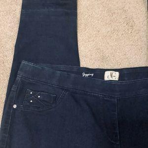 Plus Size 1 X Dc Jeans Dark wash Jeggings